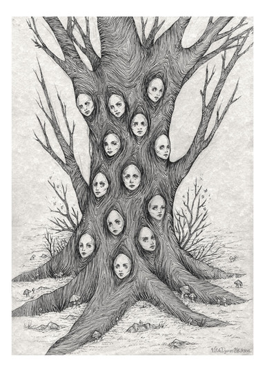 'Synthesis' by Vilde Dyrnes Ulriksen | Mokinzi Art