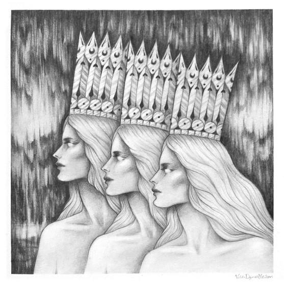 'Crowns' by Vilde Dyrnes Ulriksen   Mokinzi Art