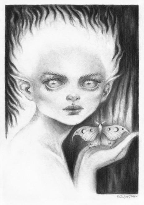 'Faerie' by Vilde Dyrnes Ulriksen | Mokinzi Art