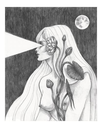 'Lunae Echo' by Vilde Dyrnes Ulriksen   Mokinzi Art