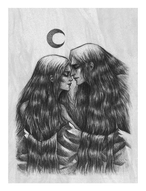 'Reminiscence' by Vilde Dyrnes Ulriksen | Mokinzi Art