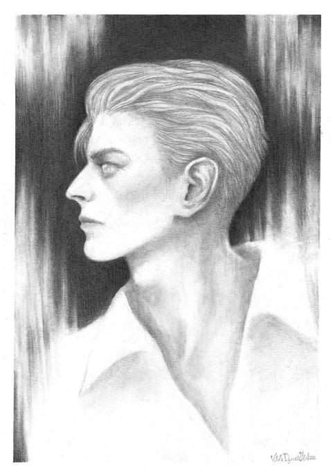 'Bowie'  by Vilde Dyrnes Ulriksen | Mokinzi Art