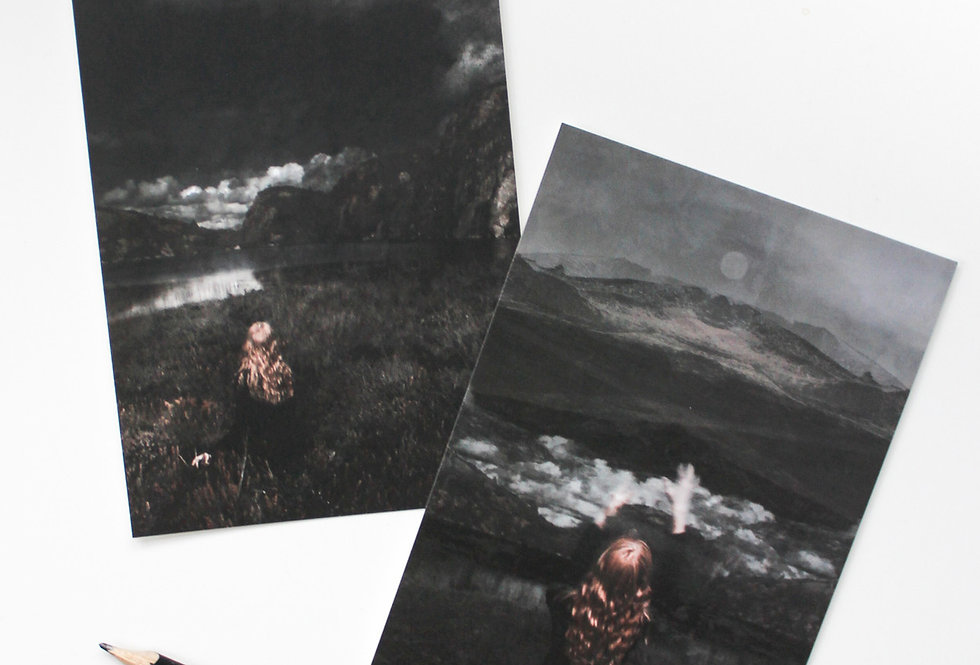 'Moorlands' Art Postcard Set