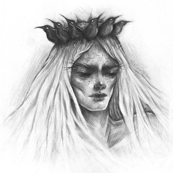'Crowned' by Vilde Dyrnes Ulriksen | Mokinzi Art