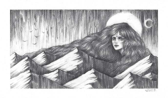 'Monsoon' by Vilde Dyrnes Ulriksen | Mokinzi Art