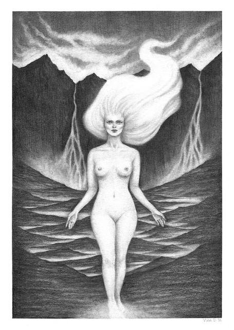 'Darklands' by Vilde Dyrnes Ulriksen   Mokinzi Art