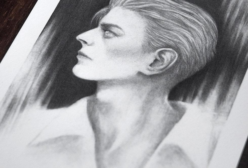 'David Bowie' Limited Edition Mini Print