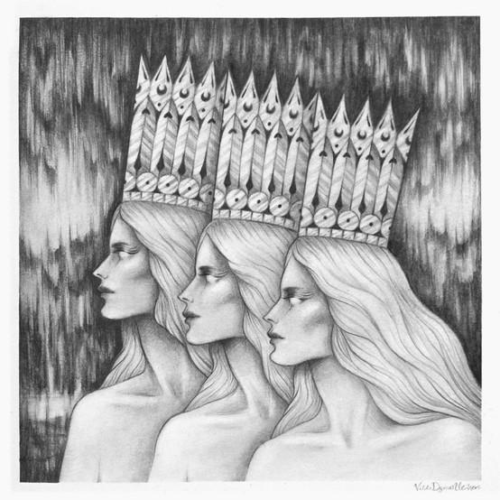 'Crowns' by Vilde Dyrnes Ulriksen | Mokinzi Art