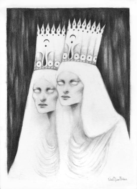 'Queenwraiths' by Vilde Dyrnes Ulriksen | Mokinzi Art