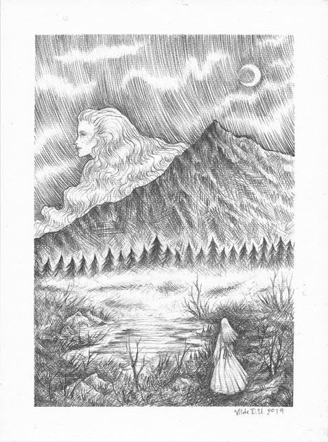 'Revelation' by Vilde Dyrnes Ulriksen   Mokinzi Art