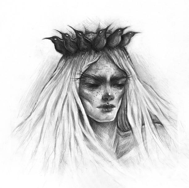'Crowned' by Vilde Dyrnes Ulriksen   Mokinzi Art