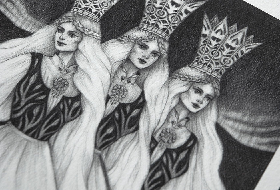 'Princesses Three' Limited Edition Print
