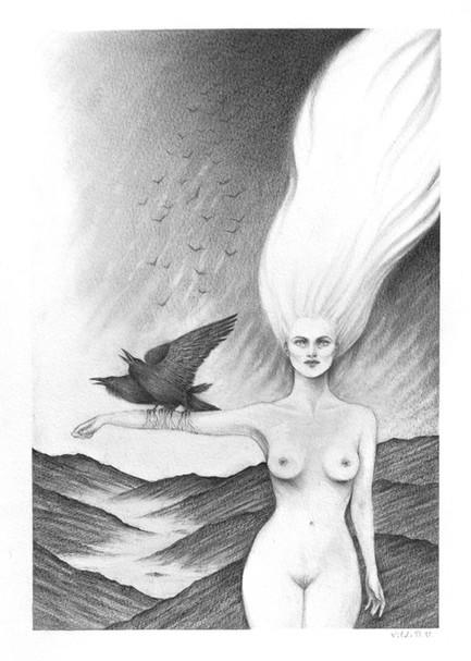 'Ascend' by Vilde Dyrnes Ulriksen   Mokinzi Art