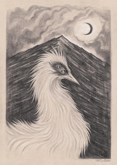 Illustration by Vilde Dyrnes Ulriksen | Mokinzi Art