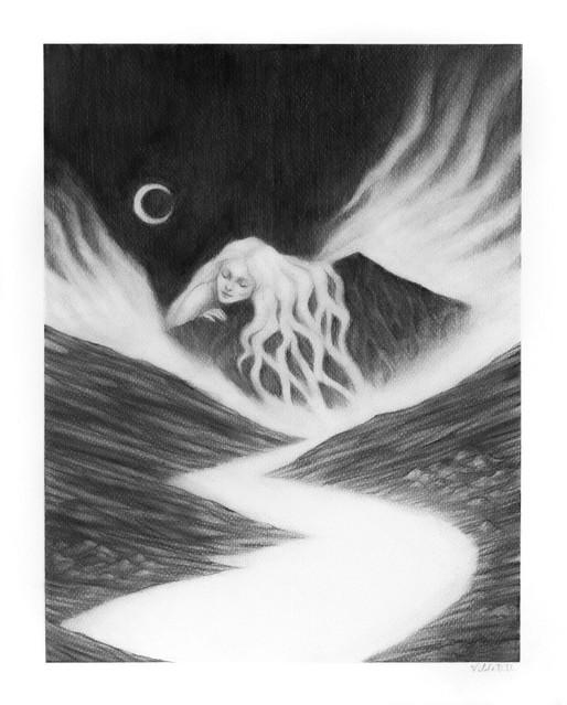 'Slumber' by Vilde Dyrnes Ulriksen | Mokinzi Art
