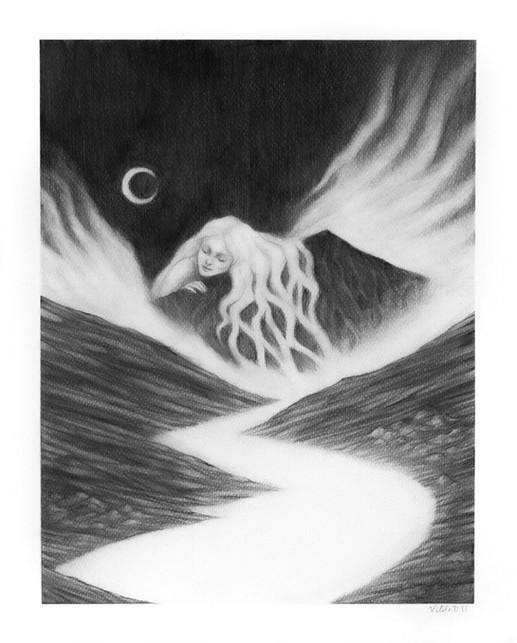 'Slumber' by Vilde Dyrnes Ulriksen   Mokinzi Art