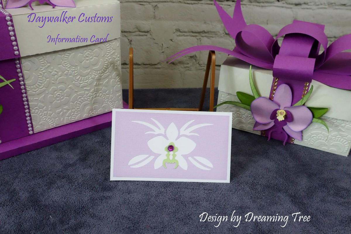 Orchid Information Card