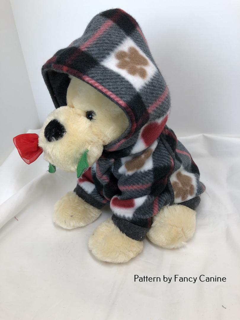 Fleece Dog Hoodie (M)