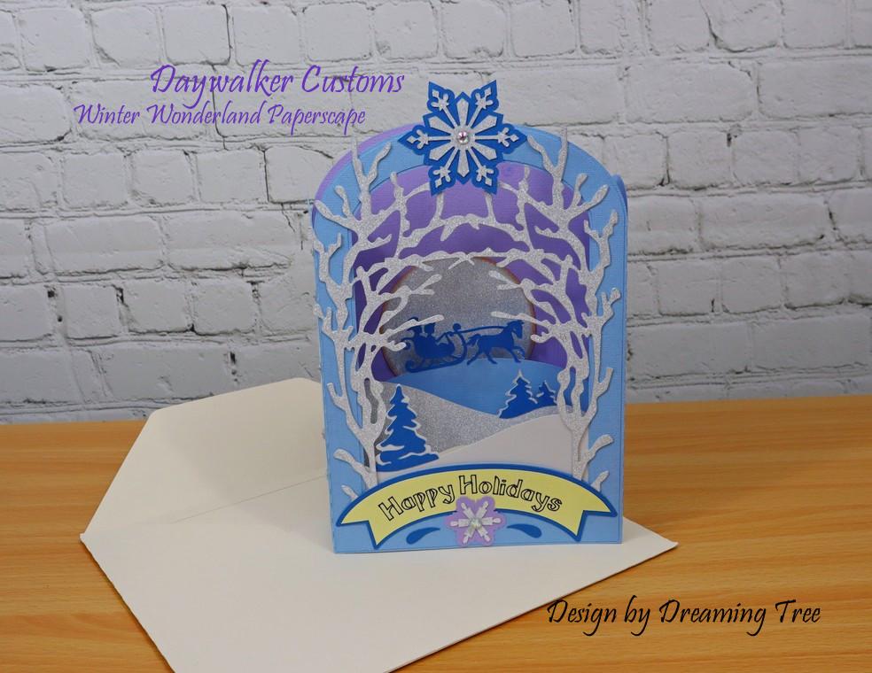 Winter Wonderland Paperscape