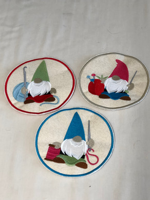 Gnome Mug Rugs