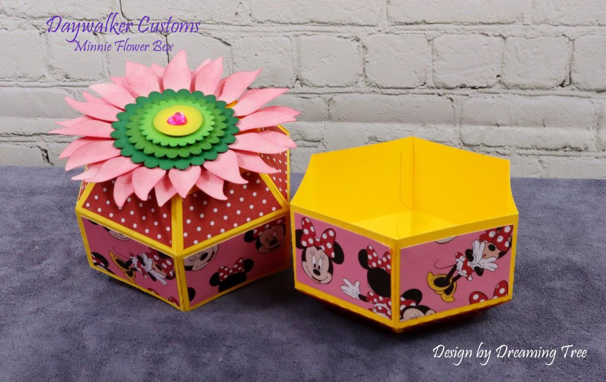 Minnie Flower Box