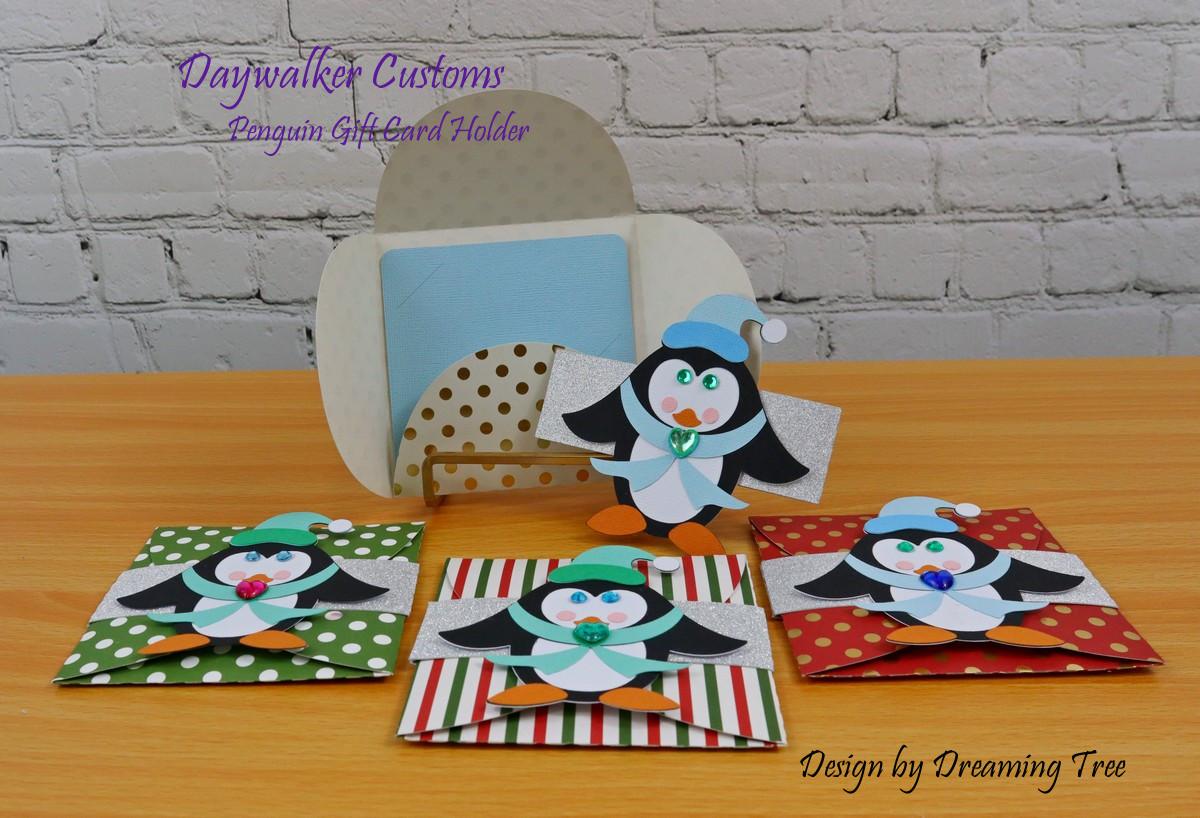 Penguin Gift Card Holder