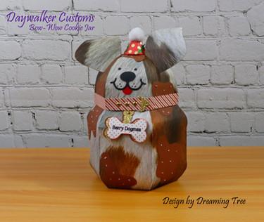 Bow-Wow Cookie Jar