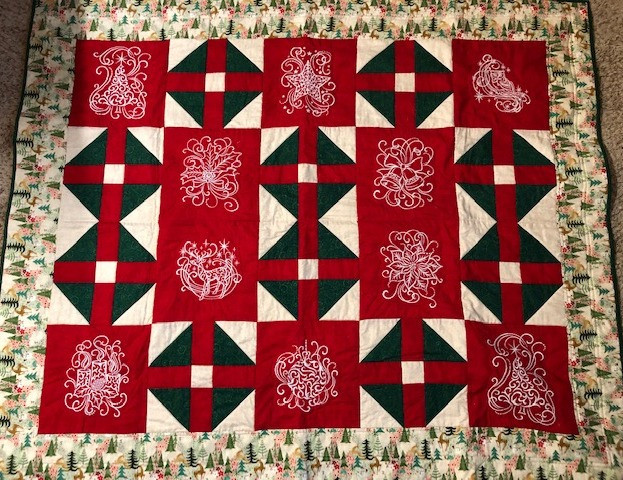 White Christmas Quilt