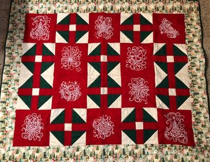 White Christmas Quilt