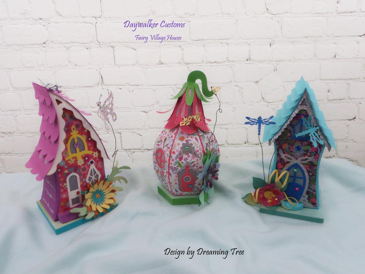 Fairy Village Houses