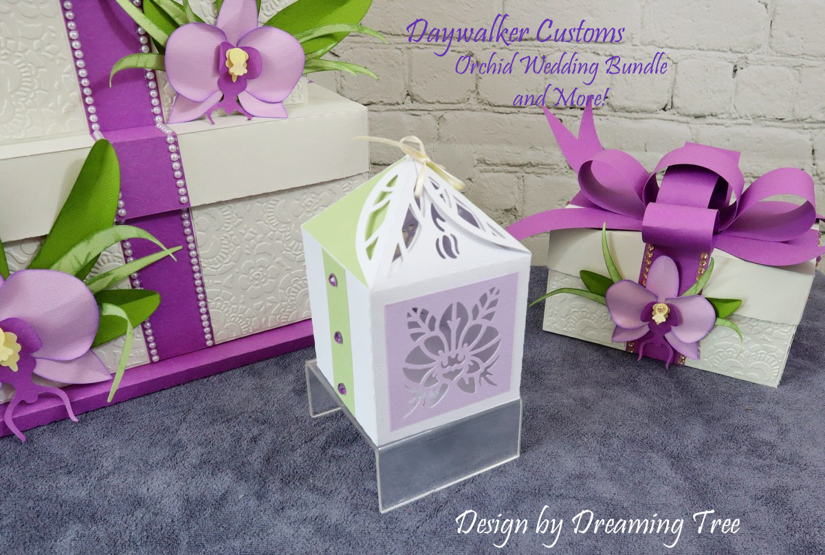 Orchid Favor Box