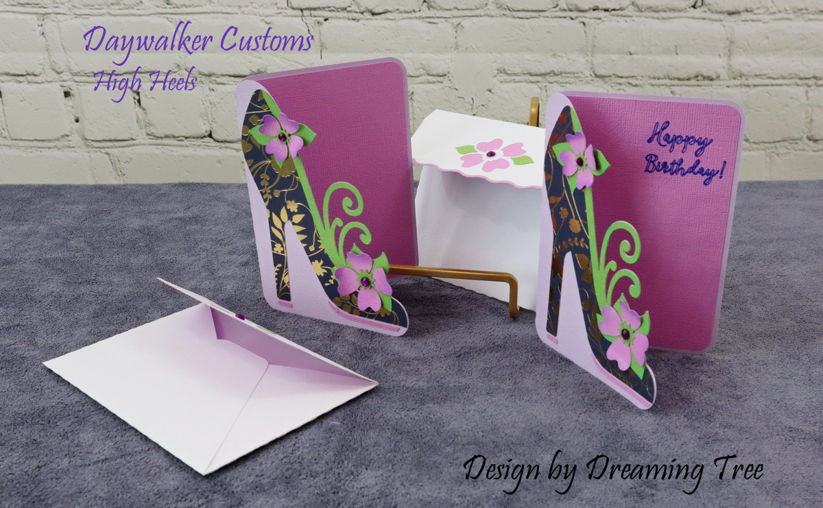 High Heels Card