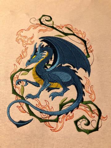 Dragon by EL