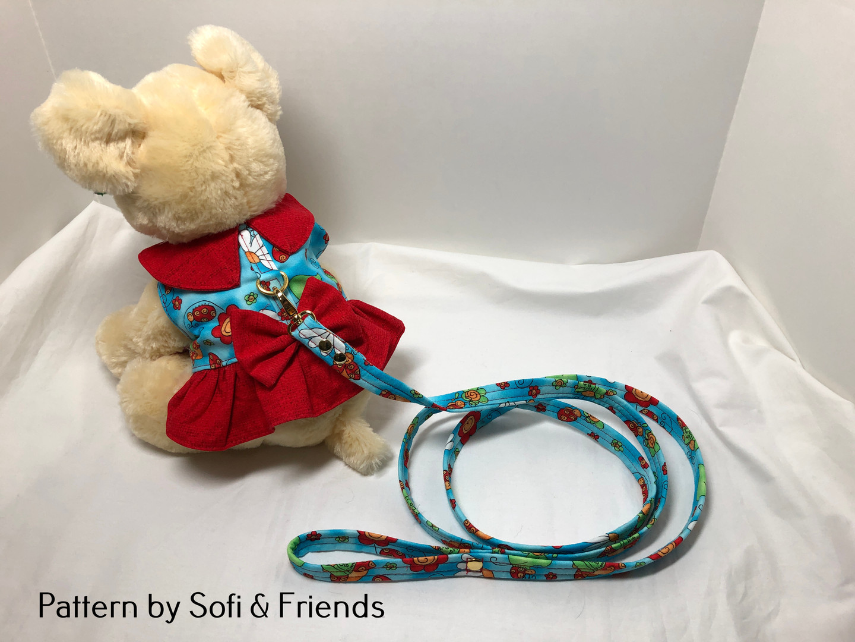 Harness Dress (S) & leash