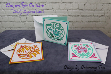 Lovely Layered Cards