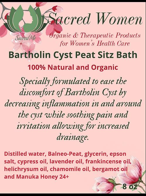 Bartholin Cyst Peat Sitz Bath