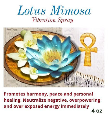 Lotus Mimosa Vibrational Spray