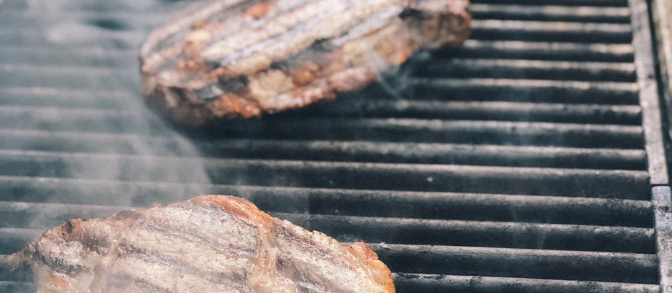 A new pastime: Grilling