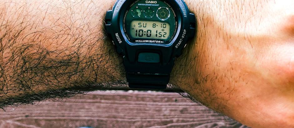 G SHOCK: A Big Bulky Ugly Watch