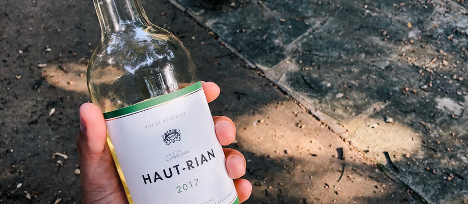 Tasting Notes: Bordeaux Blanc 2017