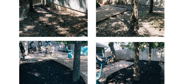 Xeriscape Backyard: Mulch Maintenance