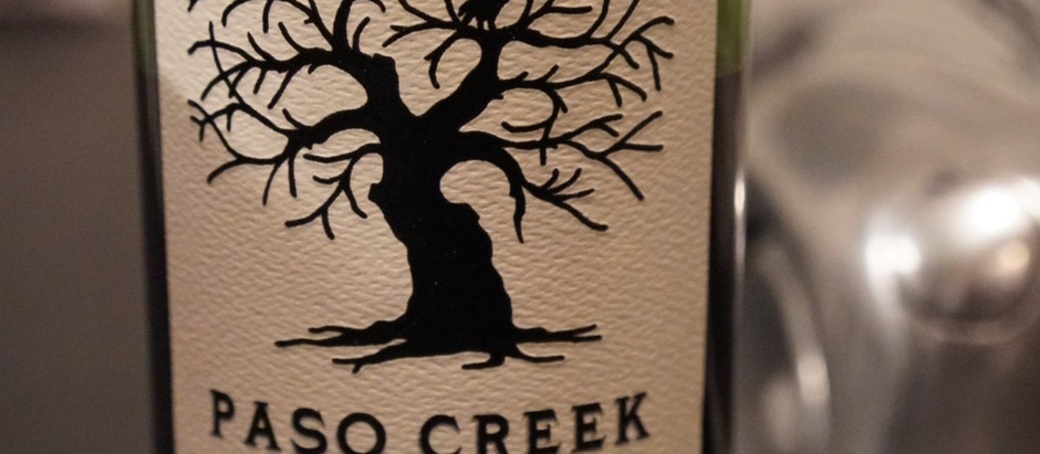 Tasting Notes: 2017 Paso Creek
