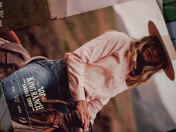 Escape into The King Ranch Saddle Shop Fall Look Book.