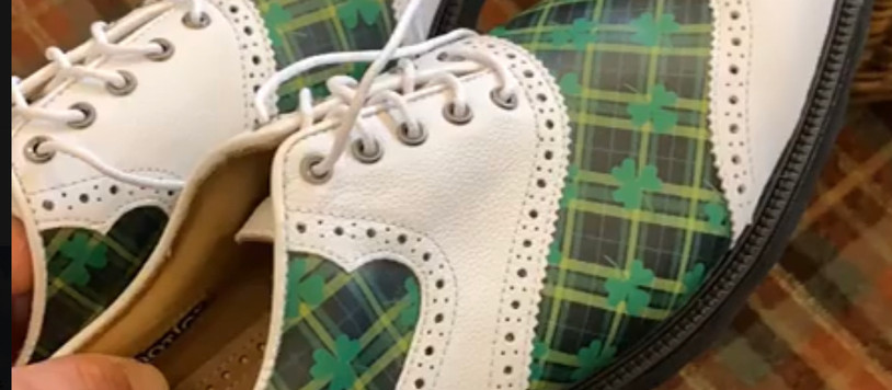 Green With Envy: JUSTIN THOMAS' GOLF SHOES - Sunday at THE PLAYERS