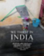 We Thirst In India_11X14 SCREENING POSTE