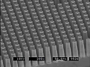 Micro Probes - Micro Pillars - LIGA