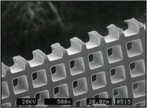 Square Aperture Filter Mesh