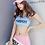 Thumbnail: SYG1702 小衫配运动型胸罩平角裤3件套