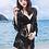 Thumbnail: AF17921 花朵网纱开衫