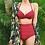 Thumbnail: RSN19222 Maroon High waist Bikini